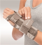 Mueller Carpal Tunnel Wrist Stabilizer - Taupe