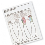 Touch Test Screening Forms - Foot or Hand - 100 ct