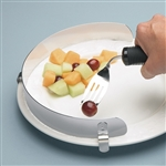 Stainless Steel Food Plate Guard