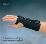 North Coast Medical Comfort Cool D-Ring Wrist Orthosis - Short