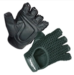 Padded Mesh Wheelchair Gloves by North Coast Medical