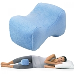 OPTP Contour Leg Pillow - Light Blue