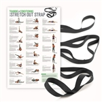 OPTP Extra Long Stretch Out Strap XL - w/ Poster