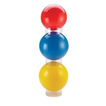 OPTP Clear Balls Stacker - Set of 3