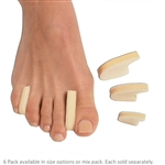 Pedifix 3-Layer Toe Separators - 6 Pack