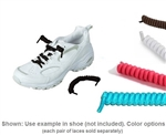 No Tie Curly Elastic Shoelaces by Providence Spillproof