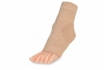 Thin Gel Padded Sleeve Protects, Moisturizes and Cushions Ankle Bones Without Added Bulk!