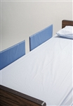 SkiL-Care Split-Rail Vinyl Bed Rail Pads