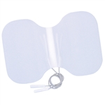 "Uni-Patch Back Electrodes - 6"" x 4"" Butterfly"