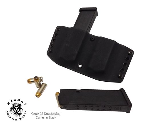 Double Custom Kydex Magazine Carrier - Pistol