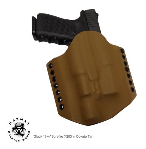 OWB Kydex Light Bearing Holster - Custom