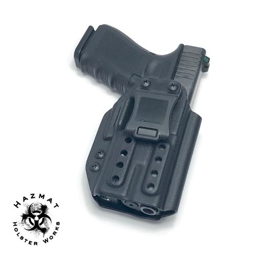 Holster OWB Belt Paddle KYDEX Outside Waistband Glock 19//23//32 w//Surefire XC1