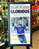 11x18 St Louis Post Dispatch St Louis Blues framed poster