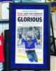 11x18 St Louis Post Dispatch St Louis Blues framed & matted poster