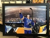 16x24  framed St Louis Blues Vladamir Tarasenko print  with autographed puck authenticated by Beckett