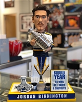 "18"" Jordan Binnington custom bobblehead - 50 made"