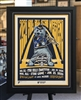 "18x24"" 2020 NHL All Star Louie poster print double mat & framed  poster"