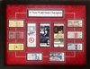 "Framed and matted 18x24"" St Louis Cardinals World Series replica tickets"