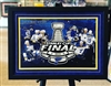 2019 St Louis Blues Stanley Cup framed print with black plate