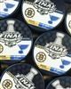 2019 Stanley Cup Dual Logo Final puck