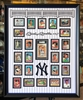"30x40"" New York Yankees Mickey Mantle autograph & card set"
