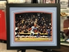 11x14 autograph print of St Louis Cardinals Willie McGee