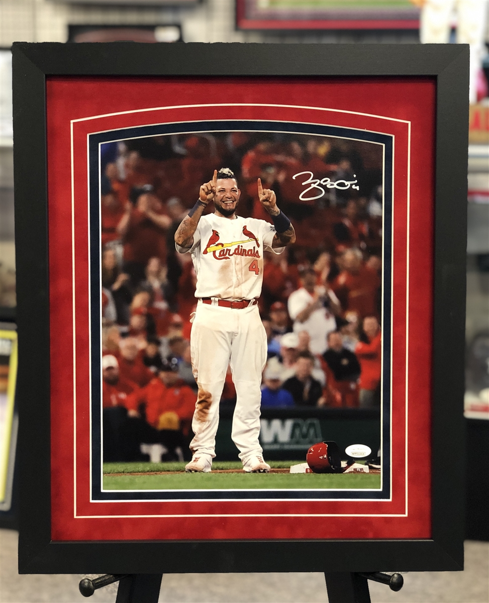Yadier Molina St Louis Cardinals 8x10 Photo AAOF122