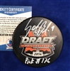 St Louis Blues Sammy Blais autographed Official DRAFT PUCK