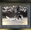 Bob Gibson 17K's  11x14 autographed, matted & framed print