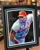 "16x24"" autographed 3D print of Bob Gibson by Steven Walden"