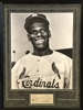 Bob Gibson early years 16x20 print with autograph check