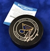Brayden Schenn autographed official game puck - Beckett Authenticated