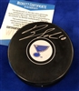 Brayden Schenn autographed  puck - Beckett Authenticated