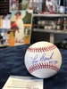 Lou Brock inscribed HOF 85 autograph official Rawlings baseball