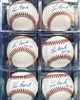 Lou Brock HOF 85 autograph official Rawlings baseball