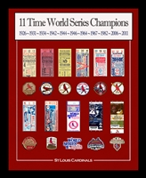 GIVEAWAY!  16x20 framed St Louis Cardinals replica World Series Tickets & Patches