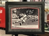 St Louis Cardinals Lou Brock  11x14 autographed, matted & framed print
