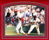 Lou Brock  11x14 autographed, matted & framed print