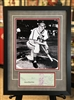 St Louis Cardinals Stan Musial 11x14 print with signed check, matted & framed
