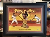 Ozzie Smith 1st Gold Glove autographed celebration print