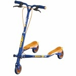 T5 carving scooter - Blue