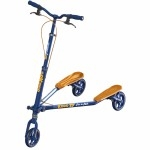 T7 carving scooter - Blue