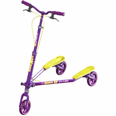 T7 carving scooter- Purple