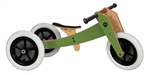 Wishbone Balance Bike 3-in-1 - Green