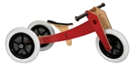 Wishbone Balance Bike 3-in-1 - Red