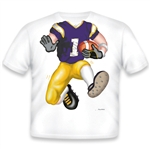 Football Purple/Yellow 467