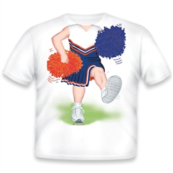 Cheerleader Blue/Orange/White 471