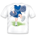 Cheerleader Blue/White 474
