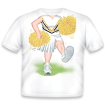 Cheerleader White/Yellow/Purple 483