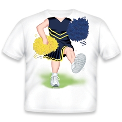 Cheerleader Blue/Yellow 548